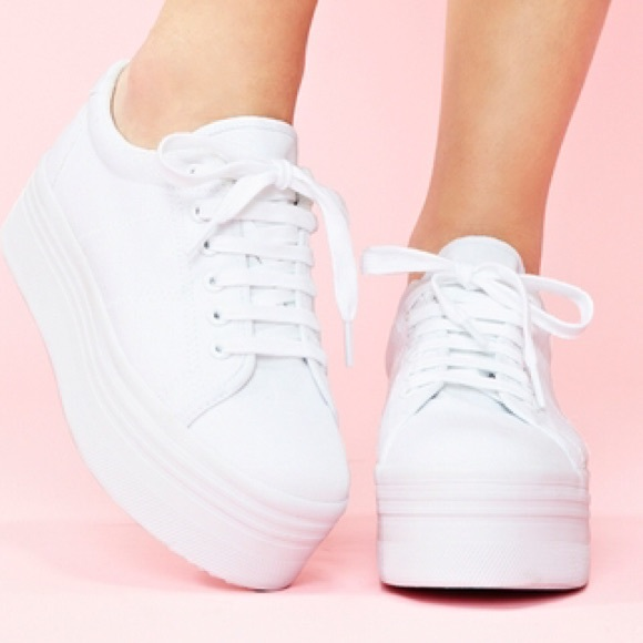 a18354577ee Jeffrey Campbell Shoes - Jeffrey Campbell Zomg Platform Sneakers