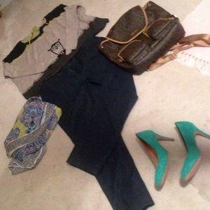 🆗Dress dark blue straight leg jeans