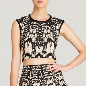 OFFER!✨ WOW Couture Jacquard Crop Top