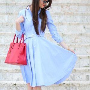 NWT Ralph Lauren Poplin Shirtdress, Size 2