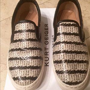 Kurt Geiger Shoes - Kurt Geiger slip-on sneakers. Size 7.