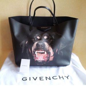 Givenchy Rottweiler antigona large tote