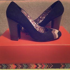 Missoni Shoes - Missoni for Target Black Suede Pumps 7-1/2