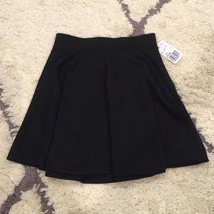 Black Skater Skirt XS
