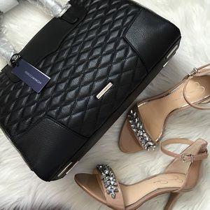 Rebecca Minkoff Handbags - Rebecca Minkoff Black Quilted Handbag