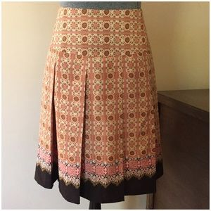 TapeMeasure Dresses & Skirts - Silk Pleated A-Line Skirt by TapeMeasure -- Sz 4