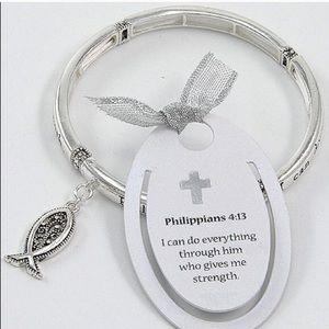 Philippians 4:13 charm bracelet