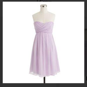 J. Crew Taryn Bridesmaids dress in Dried Lavender