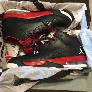 Still in the box red and black Jordan flight