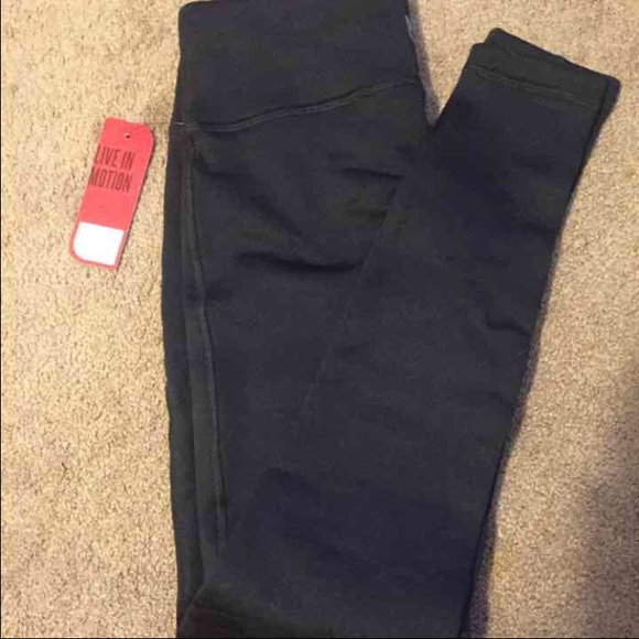 51d5f0c5d59eb Fila Pants | Fleece Lined Leggings | Poshmark