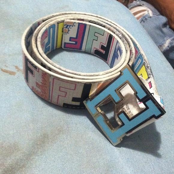 fendi designer belts ol0b  Accessories