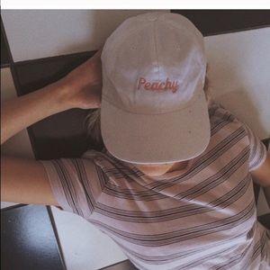 Brandy Melville Katherine peachy hat