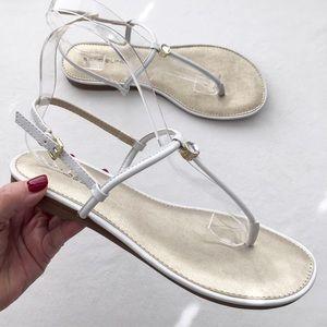 bfe3c9dfd0a Bandolino Shoes - 💥HP💥 White patent jeweled Bandolino sandals