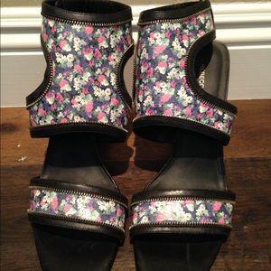 EUC Rebecca Minkoff Parker Floral Heels