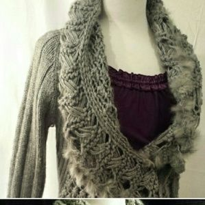 Sweaters - Silver-Grey sweater