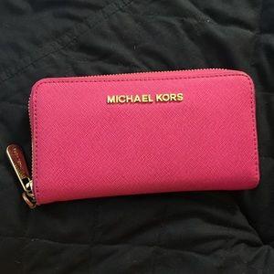 Pink Micheal Kors Wallet