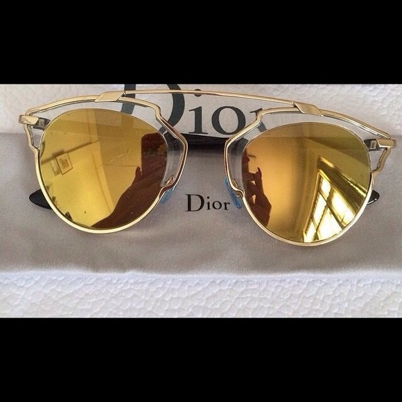 340752a554ff Dior Accessories - Dior So Real Sunglasses - Gold