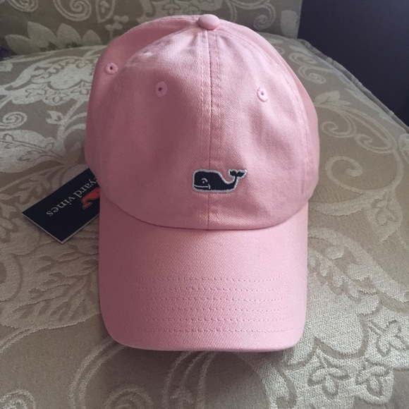 Vineyard Vines baseball cap in flamingo! ca37f5ee455c