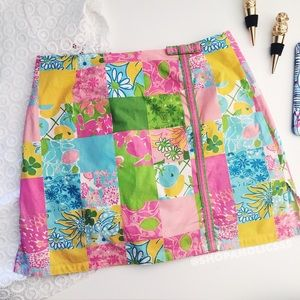 Lilly Pulitzer Pants - 🎉 LILLY PULITZER Rainbow Patch Skort