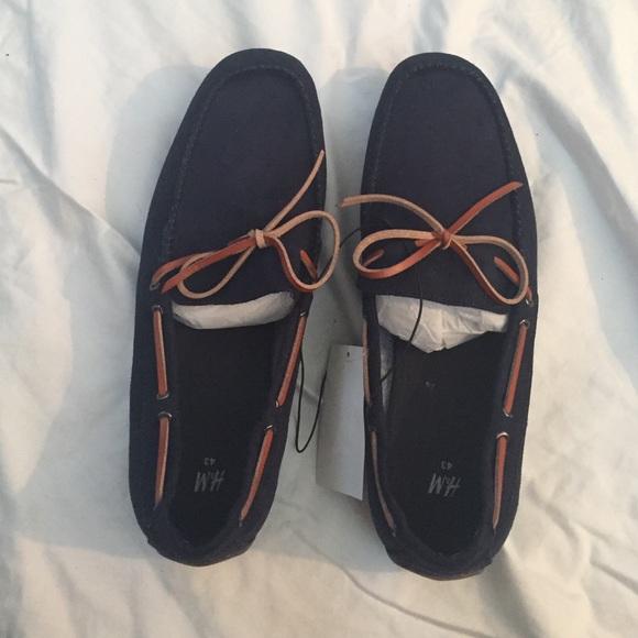 7b0ba3ffc5b H M dark blue loafers for MEN. M 56fd829c5a49d0aabe00a3e2