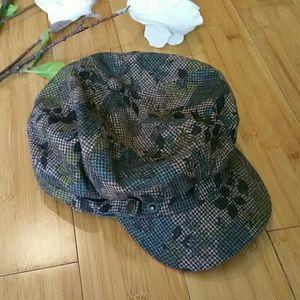 British flat cap style hat NEVER WORN