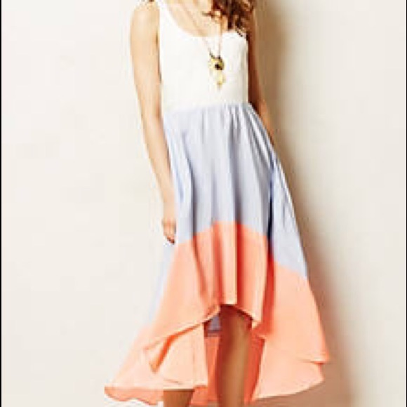 280aee585f37 Anthropologie Dresses & Skirts - Anthropologie Hutch Colorblock hi lo dress
