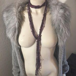 Handmade Lariet Necklace