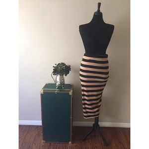 COS Striped Skirt Size S