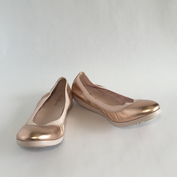 85f4f79ab26a Cole Haan Shoes - Like New! Cole Haan Rose Gold Gilmore Ballet Flats