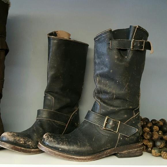 aac088b0eb ... leather moto boots. M 56fd9b94f0137d644c065f66