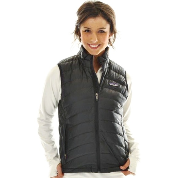 58% off Patagonia Jackets & Blazers - Black women's down Patagonia ...