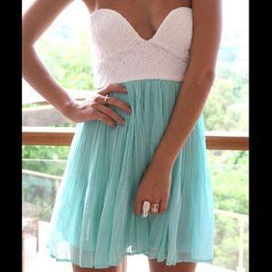 Sabo Skirt Dresses & Skirts - Sabo Skirt Mint Tea Dress