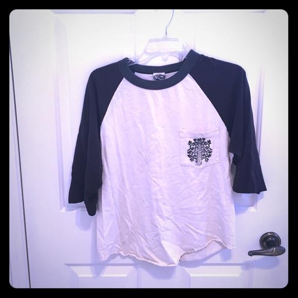 20611fe27 Chrome Hearts Tops - Chrome hearts baseball style shirt