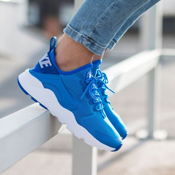 Run Shoes Blue Air Poshmark Photo White Nike Huarache Ultra tPq1ftw