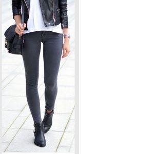 F21 Grey Skinny Jeans