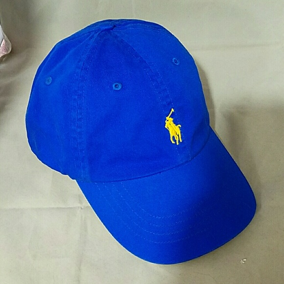 POLO RALPH LAUREN Royal Blue Hat Cap. M 56fdabaa2ba50a848606819f 24800e6fab8
