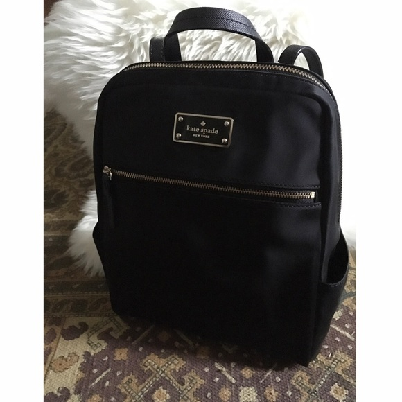 Kate Spade    Small Black Backpack 4730c189f6410