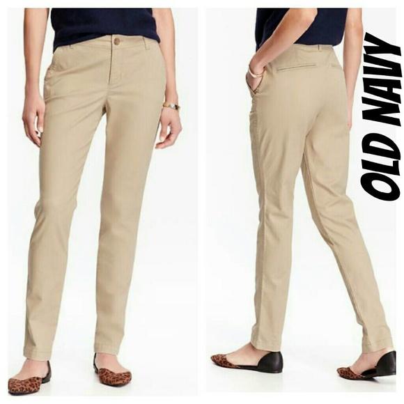 c46e144211f Old navy tall 14 khaki pants skinny work T