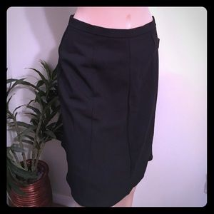 NY Collection Dresses & Skirts - NY COLLECTION STRETCH CAREER/ Basic Black skirt 8P