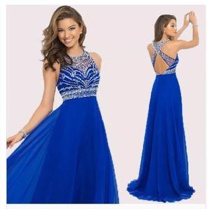 b095ee78ac9 Dresses - Sapphire blue prom dress