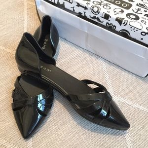 62 bamboo shoes black jelly wedge sandal shoes from