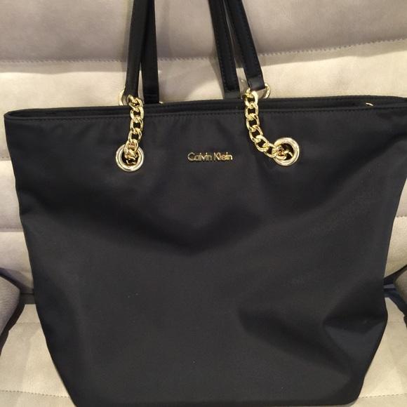 c97847462af Calvin Klein Handbags - Calvin Klein Nylon Tote
