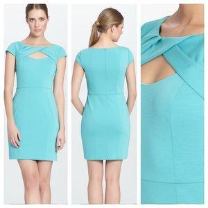Cynthia Steffe aquamarine dress, Sz 6, NWT