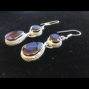 Jewelry - New! Silver plated ALLOY earrings