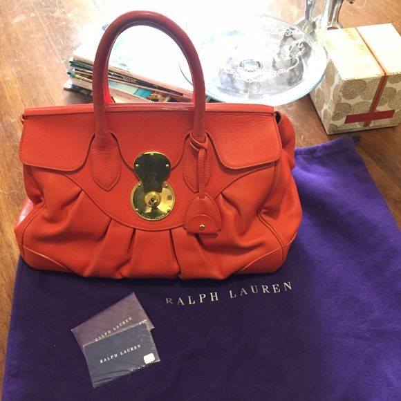 66274e60ea5e Ralph Lauren Collection Ricky Bag-used condition. M 5742d8b76a5830b1d8072c78
