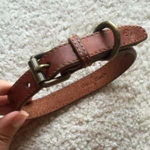 Cole Haan Other - Cole Haan leather dog collar