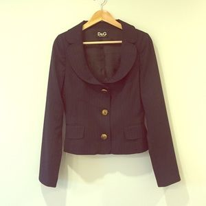 D&G Jackets & Blazers - Dolce & Gabbana navy blue blazer