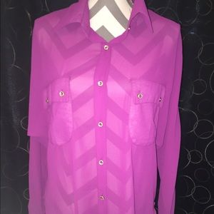 Allegra K Tops - Long sleeve blouse