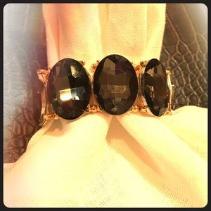 Jewelry - Elegant Black Diamond Bracelet