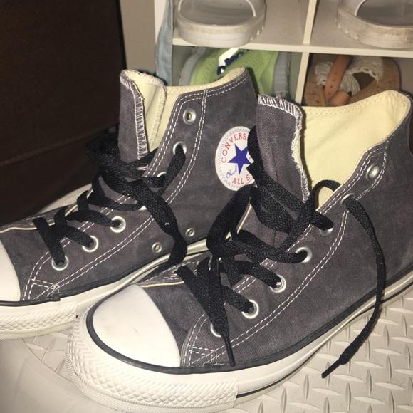 converse dark grey